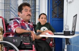 Engelli kardeşlerin gönlünden dünyaya açılan...