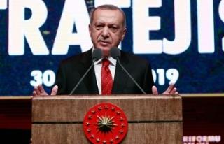 Erdoğan: Reform belgesiyle AB tam üyeliğe bağlılığımızı...