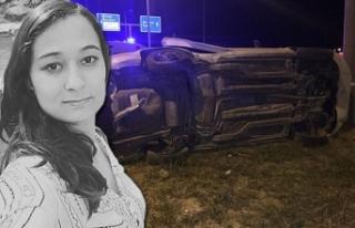 Gezmek için otomobil kiralayan üniversiteliler kaza...