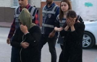 Hırsızlık için Konya'ya gelen 2 kadın, kovalamacayla...