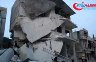İdlib'de hava saldırılarında sahurdan bu...