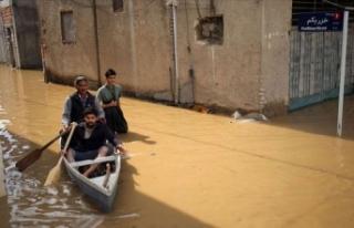 İran'daki fırtına ve şiddetli yağışlarda...