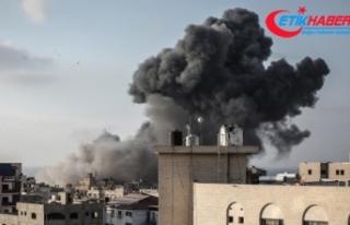 İsrail ordusu Gazze Şeridi'ni vurmaya başladığını...