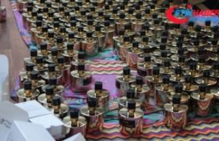 İstanbul'da sahte parfüm operasyonu