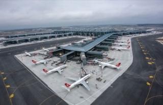 İstanbul Havalimanı'nı nisanda 4 milyondan...