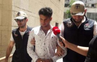 'Kafa keseceğim' diyen Suriyeli adliyede