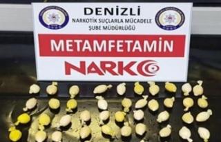 Karnından 80 poşet uyuşturucu çıktı