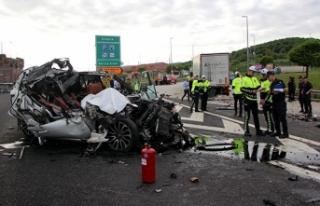 Kazada yaralanan amatör futbol kulübü başkanı,...