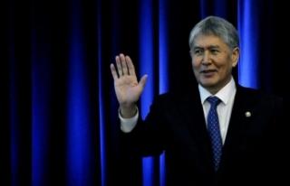 Kırgızistan'da eski Cumhurbaşkanı Atambayev...