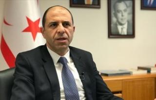 KKTC Dışişleri Bakanı Özersay'dan AB'ye:...