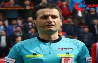 Kupa finalinde düdük Suat Arslanboğa'da