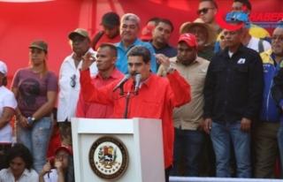 Maduro: Darbe teşebbüsü bizzat Beyaz Saray'dan...