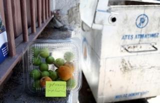 Meyveleri 'yıkanmış yiyebilirsiniz' notuyla...