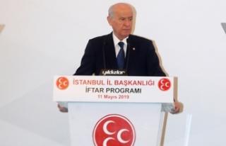 MHP Lideri Bahçeli: Be hey alçaklar, ihanetin nesi...