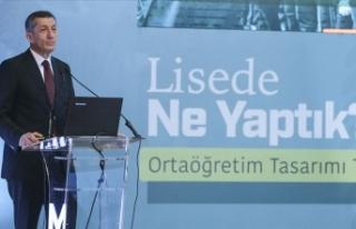 Milli Eğitim Bakanı Ziya Selçuk: Liselere yeni...