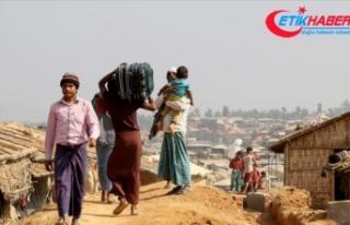 'Myanmar ordusu Arakan'a gıda ve ilaç...