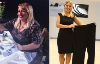 Nişanlısı terk etti 1 yılda 44 kilo verdi