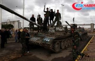 ÖSO Maaranaz köyünü terör örgütü YPG/PKK'dan...