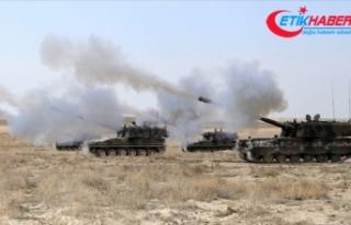 PKK/YPG'li teröristlerin taciz ateşlerine anında...