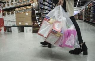 'Plastik poşet kullanımında yüzde 75 azalma...