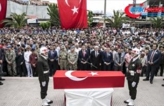 Şehit Ercan Can son yolculuğuna uğurlandı