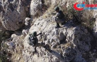 Şırnak'ta PKK'ya yönelik operasyonda...