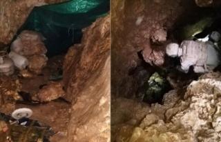 Şırnak'ta teröristlerin kullandığı 3 katlı...