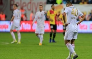 Sivasspor 7 maçtır galibiyete hasret