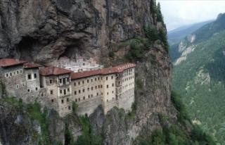 Sümela Manastırı ziyarete açıldı