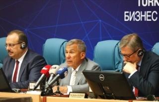 Tataristan'dan Türk iş insanlarına çağrı