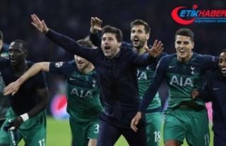 Tottenham 'ilk'i başardı