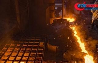 Türkiye'nin ham çelik üretimi nisanda yüzde...