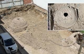 Üsküdar'da inşaat çalışmasında tarihi...