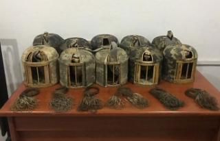 Van'da kınalı keklik avcılarına 16 bin lira...