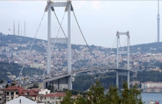 '15 Temmuz Şehitler Köprüsü'nde çalışma...