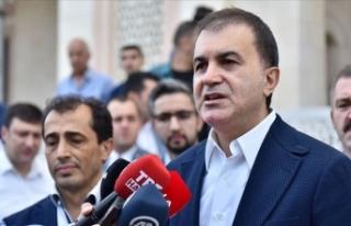 AK Parti Sözcüsü Çelik: Kıbrıs Türklerinin...