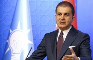 AK Parti Sözcüsü Çelik: Milli takımımıza yapılan...
