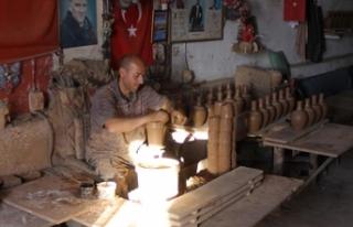 Avanos'ta üretilen çömlekler, yurt dışına...