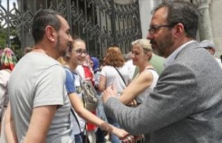 Bakan Kasapoğlu öğrencilere moral verdi