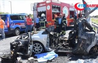 Bayram tatilindeki trafik kazalarında 50 kişi hayatını...