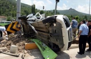 Bayram tatilindeki trafik kazalarında 86 kişi hayatını...