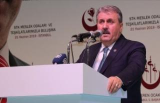 BBP Genel Başkanı Destici: Cumhur İttifakı'nın...