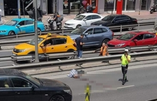 Beşiktaş'ta otomobilin çarptığı yaya ağır...