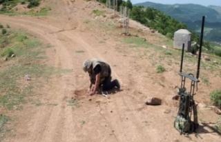 Siirt'te yola tuzaklanan patlayıcı imha edildi