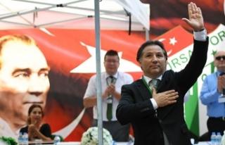 Bursaspor'un yeni başkanı Mesut Mestan