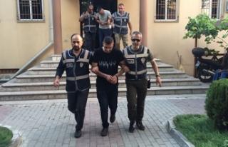 Cezaevi firarisi: Kaderde Bursa manzarasında uyurken...