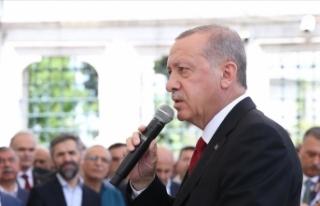 Cumhurbaşkanı Erdoğan: Bunun normal bir ölüm...
