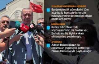 Cumhurbaşkanı Erdoğan: İstanbul dışına çıkmış...