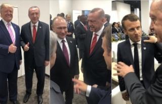 Cumhurbaşkanı Erdoğan Japonya'da temaslarına...