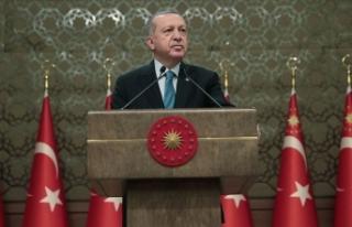 Cumhurbaşkanı Erdoğan: Kaynakların korunması...